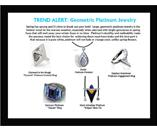 Trend Alert: Large Geometric Platinum Jewelry