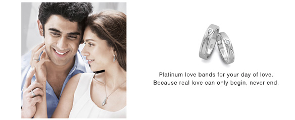 Platinum Love Bands