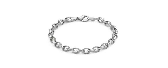 Men's platinum jewellery