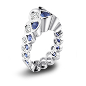 Platinum jewelry design winners