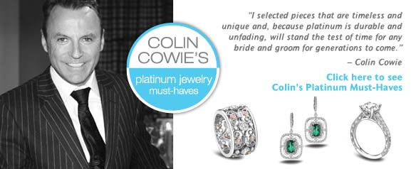 Colin Cowie Platinum Jewelry picks