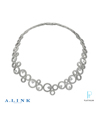 A. Link Platinum and Diamond Necklace