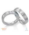 Christian Bauer Platinum Diamond Wedding Bands