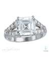 Fusaro Platinum Diamond Engagement Ring