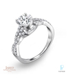 Jared® The Galleria of Jewelry Platinum Diamond Engagement Ring