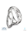 Lieberfarb Platinum Diamond Wedding Bands